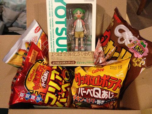 日本から届いた荷物09