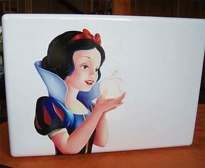白雪姫がアップルを食べる03