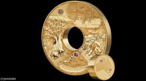 オーストラリアが2億円の金貨を鋳造02