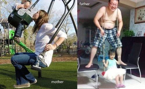 パパとママ、育児の違い12