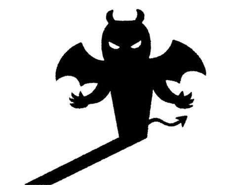 スペインの悪魔像