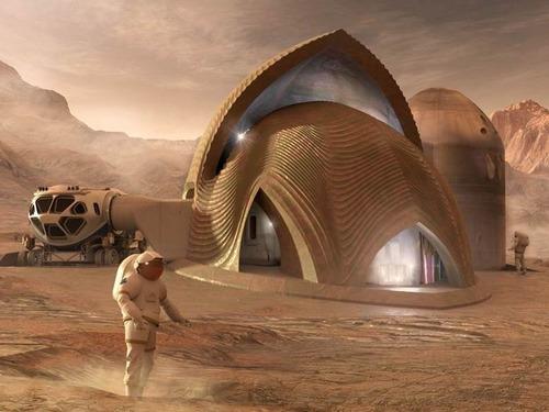 火星の住居デザイン00