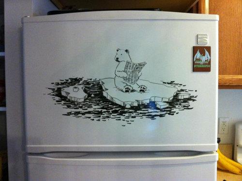 冷蔵庫アート01