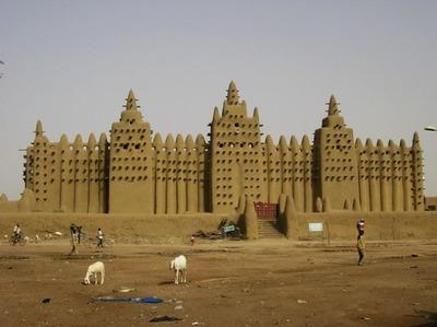 泥のモスク05