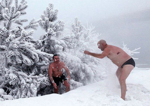 ロシア人と冬15
