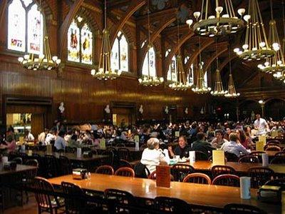 ハーバード大学の食堂03