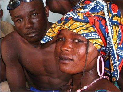 アフリカで繰り広げられるド迫力の格闘技11