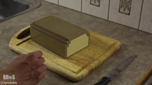 朝食づくりをレゴで表現した動画がすごい04
