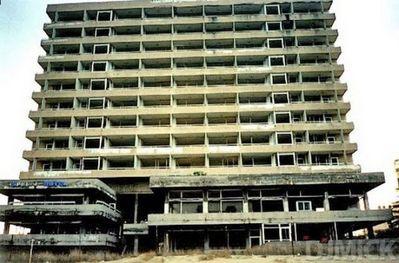 分断されたキプロスの廃墟08