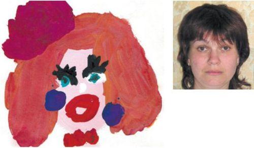 お母さんの似顔絵31