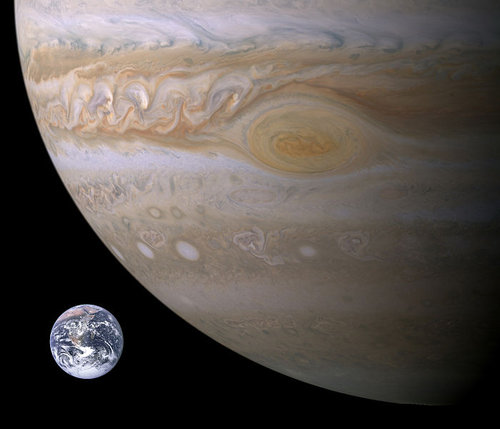 木星とオーロラ03