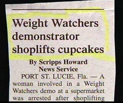 ダイエットとカップケーキ