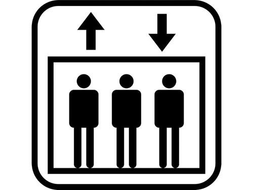 高齢者向けのエレベーター