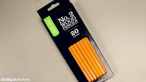 芸術家が本気で鉛筆を削るとこうなる01