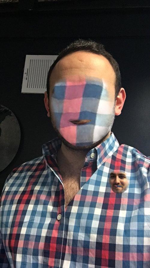 顔交換アプリの失敗例13