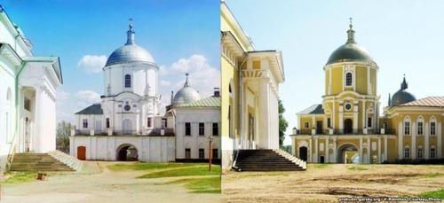 ロシア帝国時代の写真と現在24