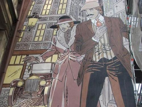 ベルギー・ブリュッセルに描かれたコミックス・グラフィティ31