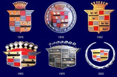 車のロゴ-キャデラック