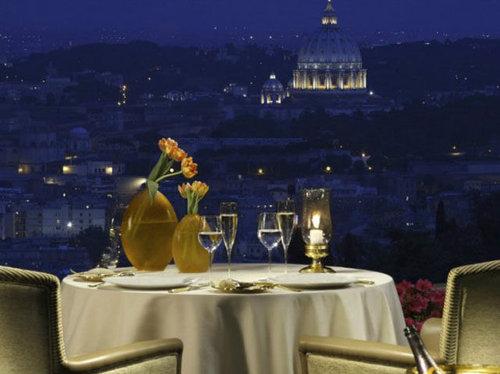 世界の絶景レストラン43