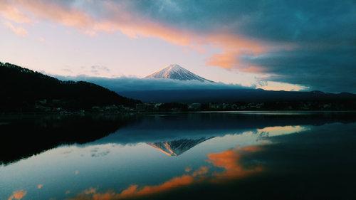外国人「日本で富士山撮ってきた」01