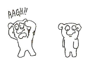 右利きが左手で描いた味のある漫画TOP