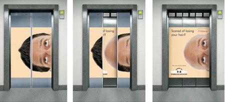 エレベーター広告07