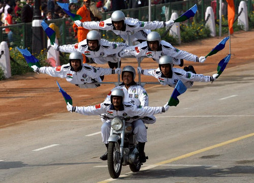インドの軍事パレード02