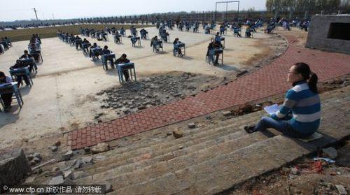 中国のカンニング防止策02
