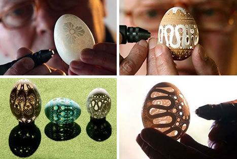 卵の殻アート05