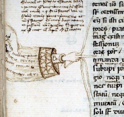 ヨーロッパ中世の書物の注記02