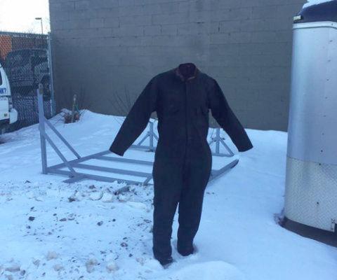 アメリカでジーンズを凍らせる遊び14