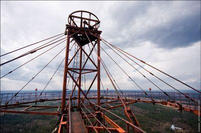 モスクワのラジオタワー10