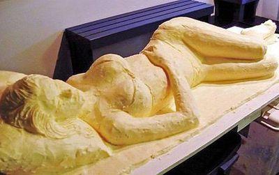 バター彫刻01