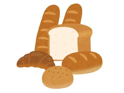 地元のパン屋で買ったパン00