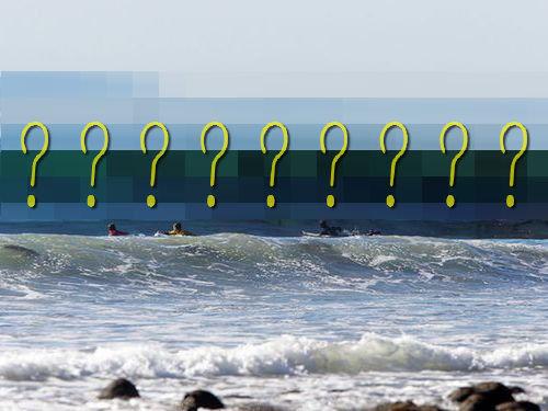 波越しに見える海草が怖い00