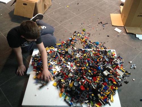 5万6000個のレゴでタイタニック02