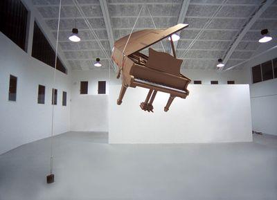 ダンボールアート-13ピアノ