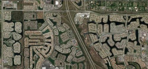 上空から見た都市25