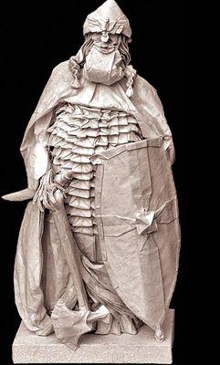 神レベルの素敵な折り紙-バイキングの戦士