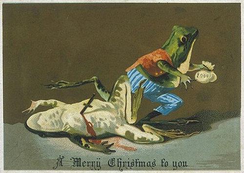 19世紀のクリスマスカード04