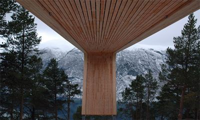 ノルウェーの展望台04