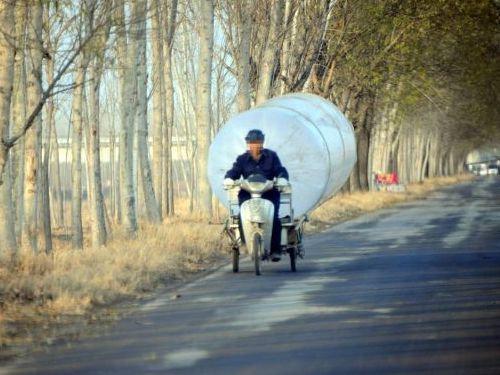 中国の天然ガス運搬00