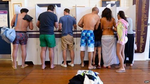 オーストラリアの選挙01