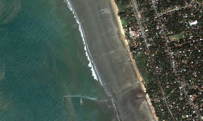 スリランカ海岸の津波(2004年12月26日)-01