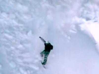 雪崩サーフィン
