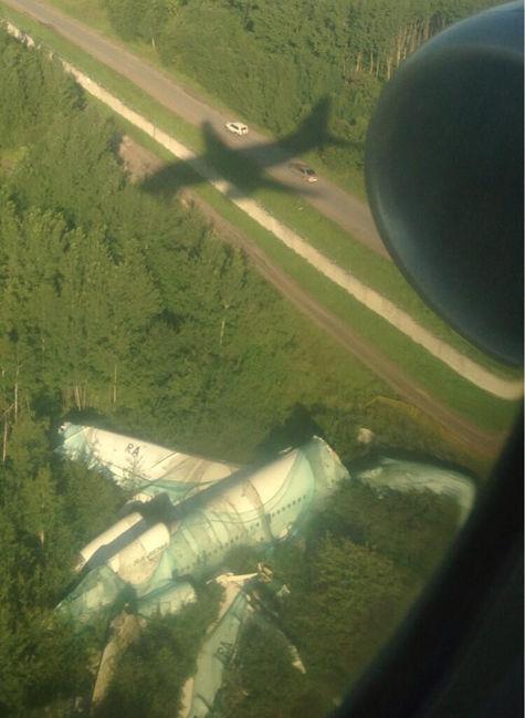 モスクワの空港に着陸01