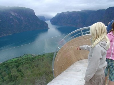 ノルウェーの展望台10