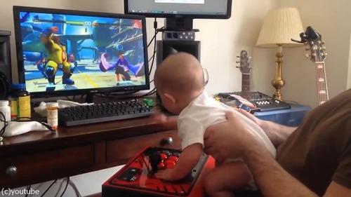 生後6か月の赤ちゃんスト5で3連勝01