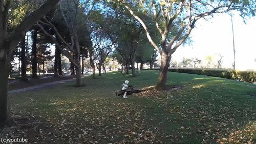スターウォーズのスピーダーバイク05