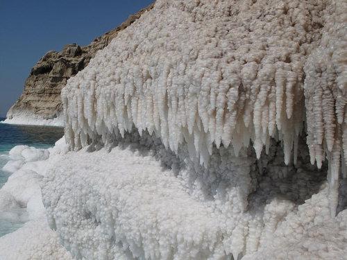 死海の塩の結晶14